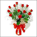 Bouquet of 11 red roses